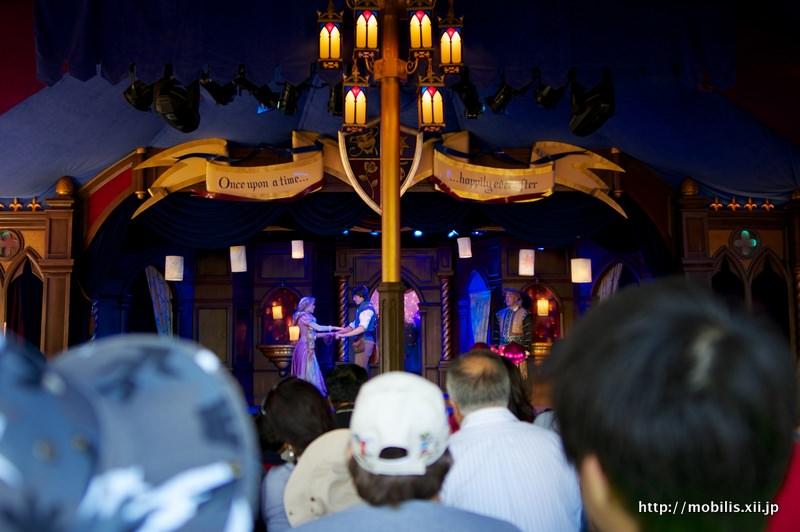 Fantasy Faireのラプンツェルショー