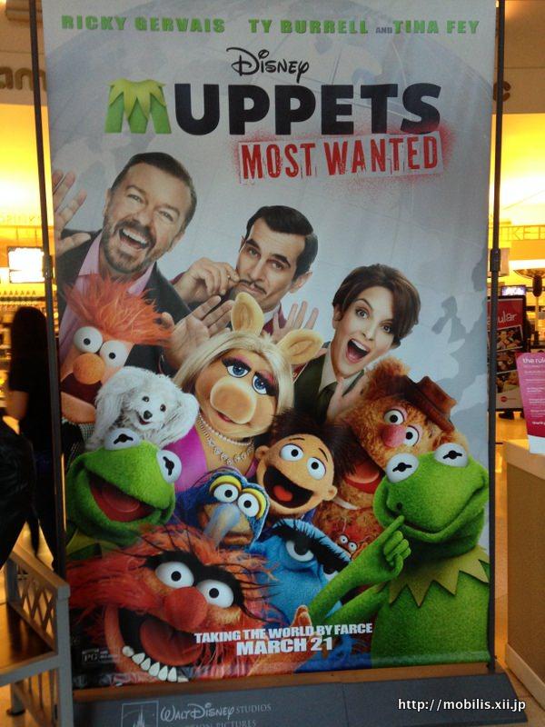 Muppets新作の広告
