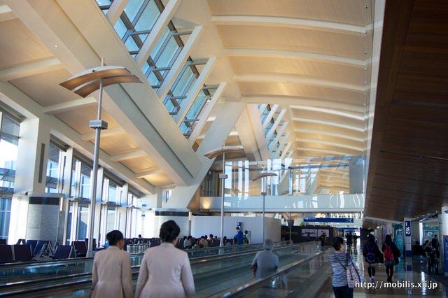 開放感ある空港