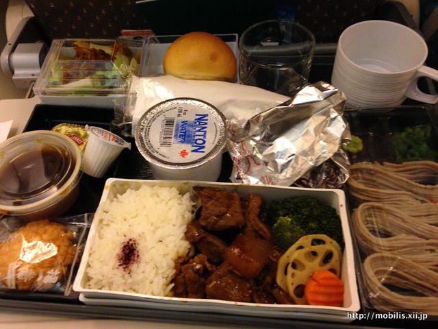 シンガポール航空 機内食(和食)