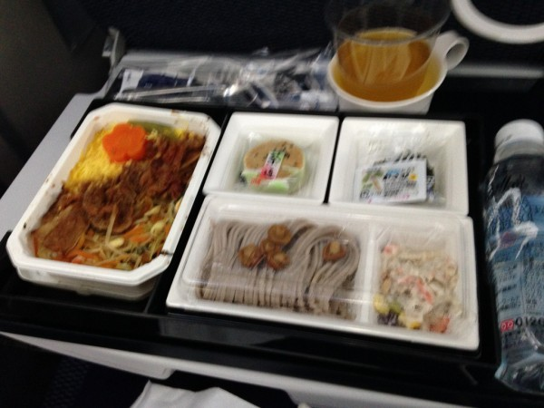 ANA機内食 牛カルビ焼きご飯