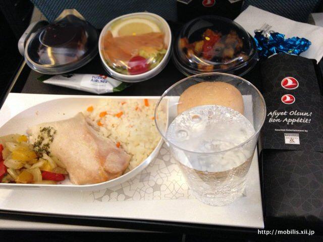 トルコ航空の機内食 美味い!