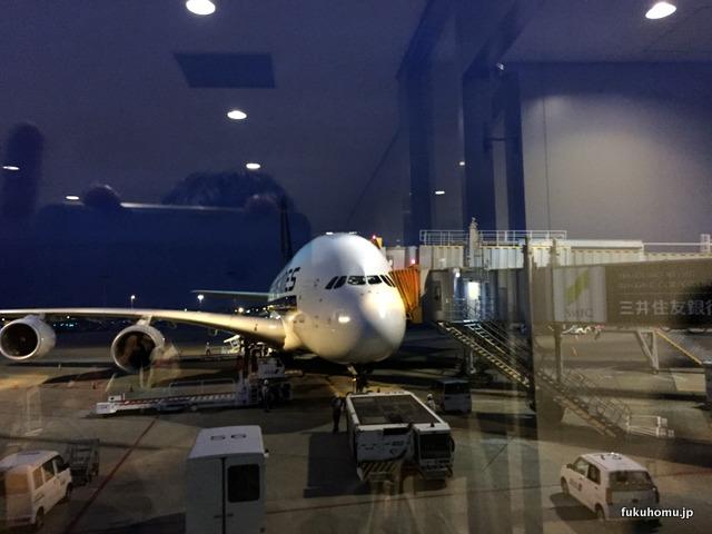 エアバス380!デカイ!