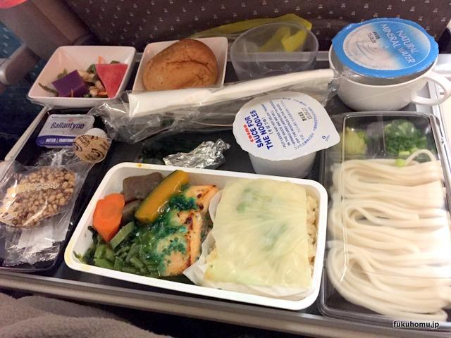 シンガポール航空の和食