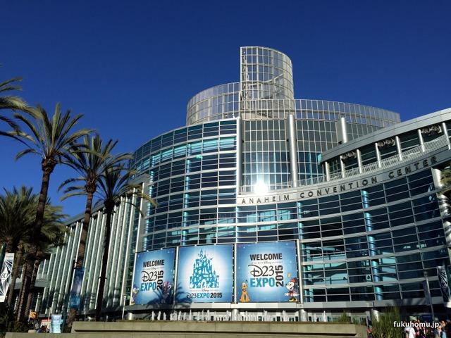 EXPO初日のコンベンションセンター