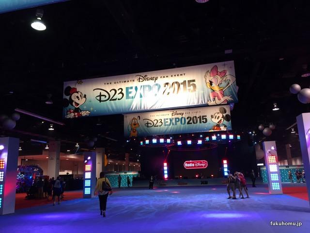 D23 EXPO 2015開幕直後