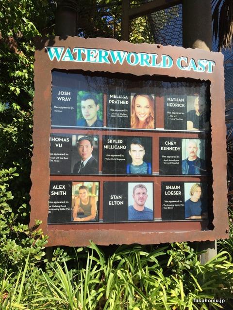 WaterWorld キャスト表