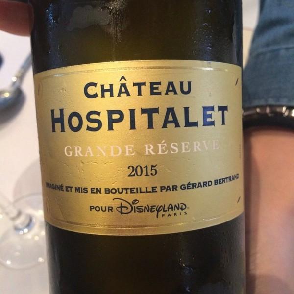 レストランで飲んだ白ワイン