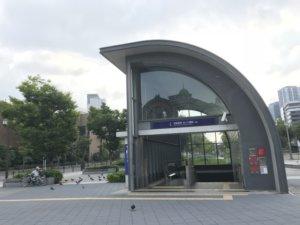 【ケンチク探検】京阪中之島線なにわ橋駅~地下に広がるコンクリートの世界においでよ